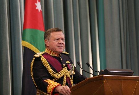 Image of Jordan's King Abdullah II [Salah Malkawi/Anadolu Agency]