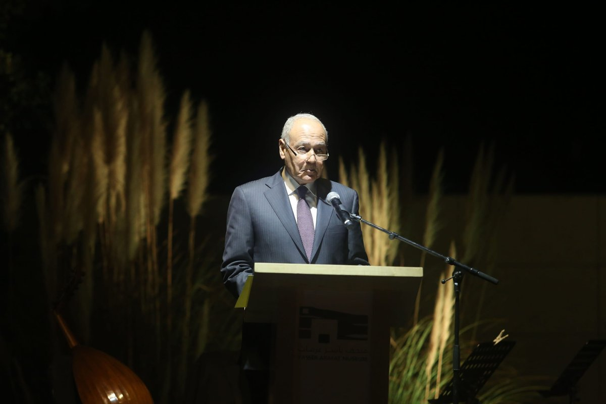Image of Arab League Secretary General Ahmed Abul-Gheit [Issam Rimawi/Anadolu]