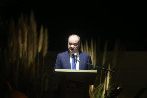 Nasser Al-Qudwa in Ramallah, West Bank on 9 November 2016 [Issam Rimawi/Anadolu Agency]