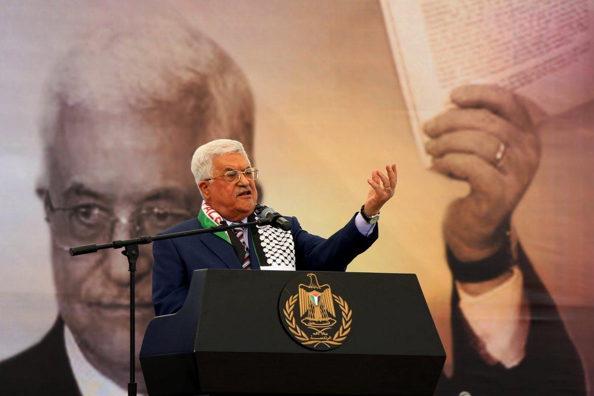 Image of Palestinian President Mahmoud Abbas [Shadi Hatem/Anadolu Agency]