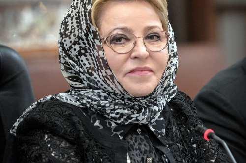 Russian Chairman of the Federation Council Valentina Matviyenko on November 13, 2016. ( Fatemeh Bahrami - Anadolu Agency )