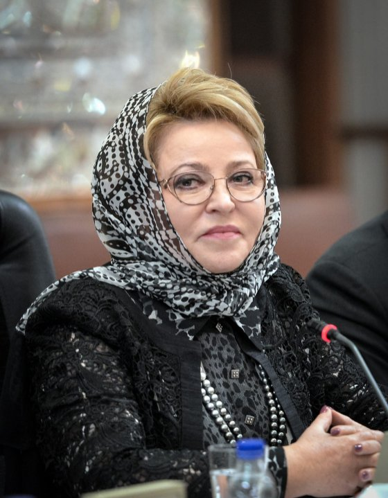 Russian Chairman of the Federation Council Valentina Matviyenko on November 13, 2016. ( Fatemeh Bahrami - Anadolu Agency )