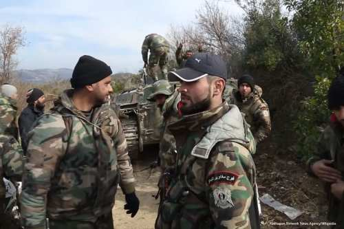 Syrian Marines on 28th February 2016 [Abkhazian Network News Agency/Wkipedia]