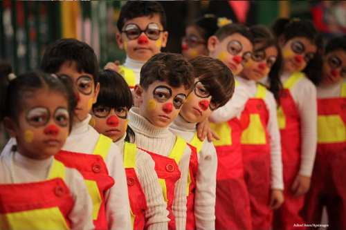 GAZA CITY, GAZA- Children being children as they mark UN Universal Children's Day