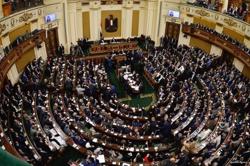 The Egyptian parliament [Anadolu Agency]