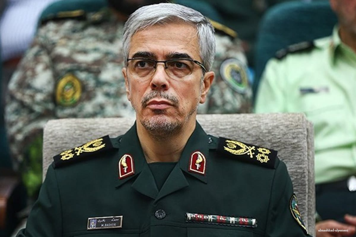 Iranian Chief of Staff Major General Mohammad Bagheri [almashhad-alyemeni]