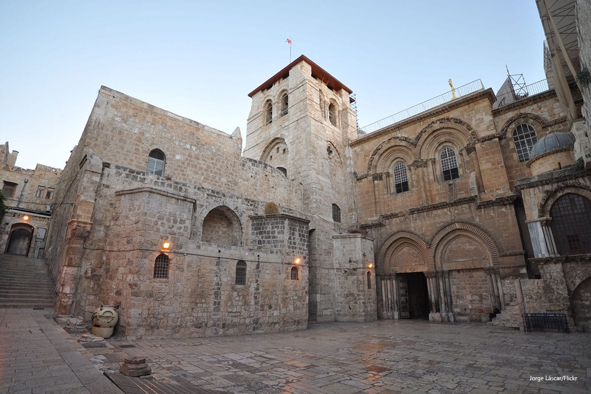 Church of the Holy Sepulchre in the Old City of Jerusalem [Jorge Láscar/Flickr]