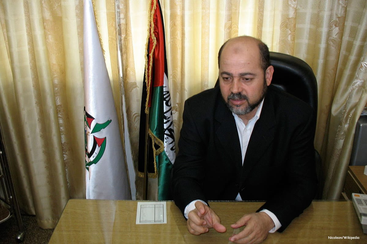 The deputy head of the Hamas Mousa Abu Marzook [Nicoleon/Wikipedia]