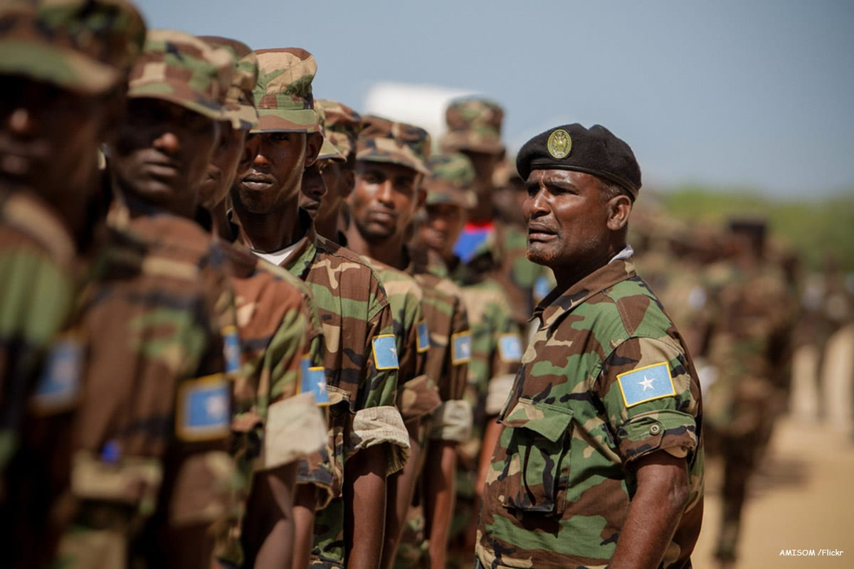 Image of the Somali National Army [AMISOM /Flickr]