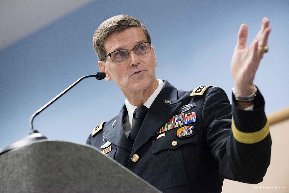 US Central Command chief General Joseph Votel [Sean K. Harp/Wikipedia]