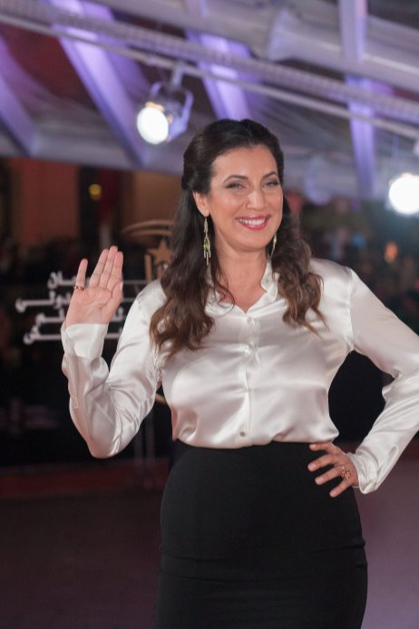 MARRAKECH, MOROCCO - DECEMBER 08: Moroccan actress Samia Abbari attends the 16th Marrakech International Film Festival in Marrakech, Morocco on December 08, 2016. ( Jalal Morchidi - Anadolu Agency )