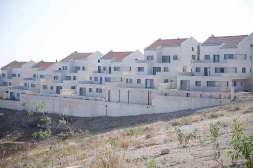 The Ramat Shlomo settlement, located on Palestinian lands in East Jerusalem, seen on December 29, 2016 [Daniel Bar On / Anadolu Agency]