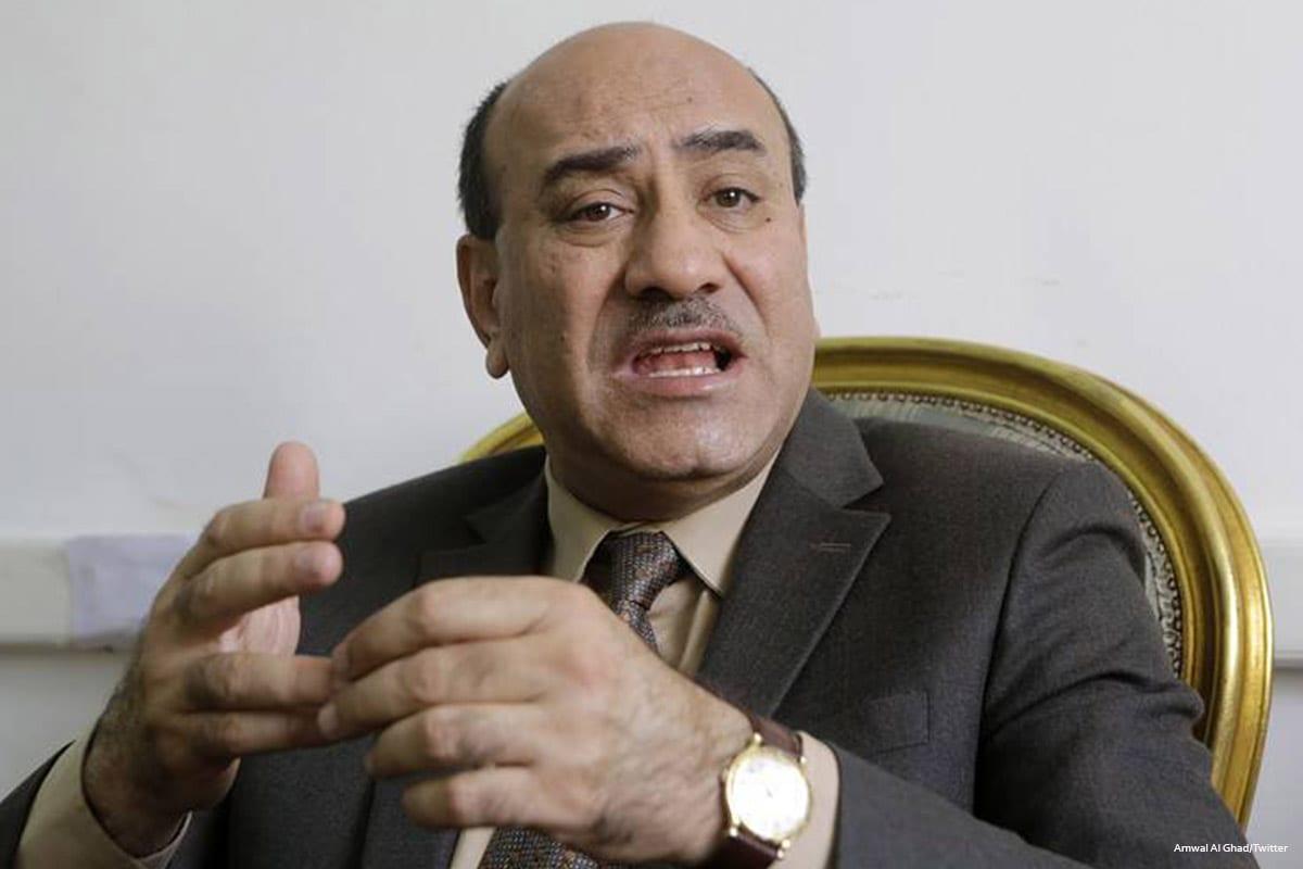 Image of former anti-corruption watchdog chief , Hisham Geneina [Amwal Al Ghad/Twitter]