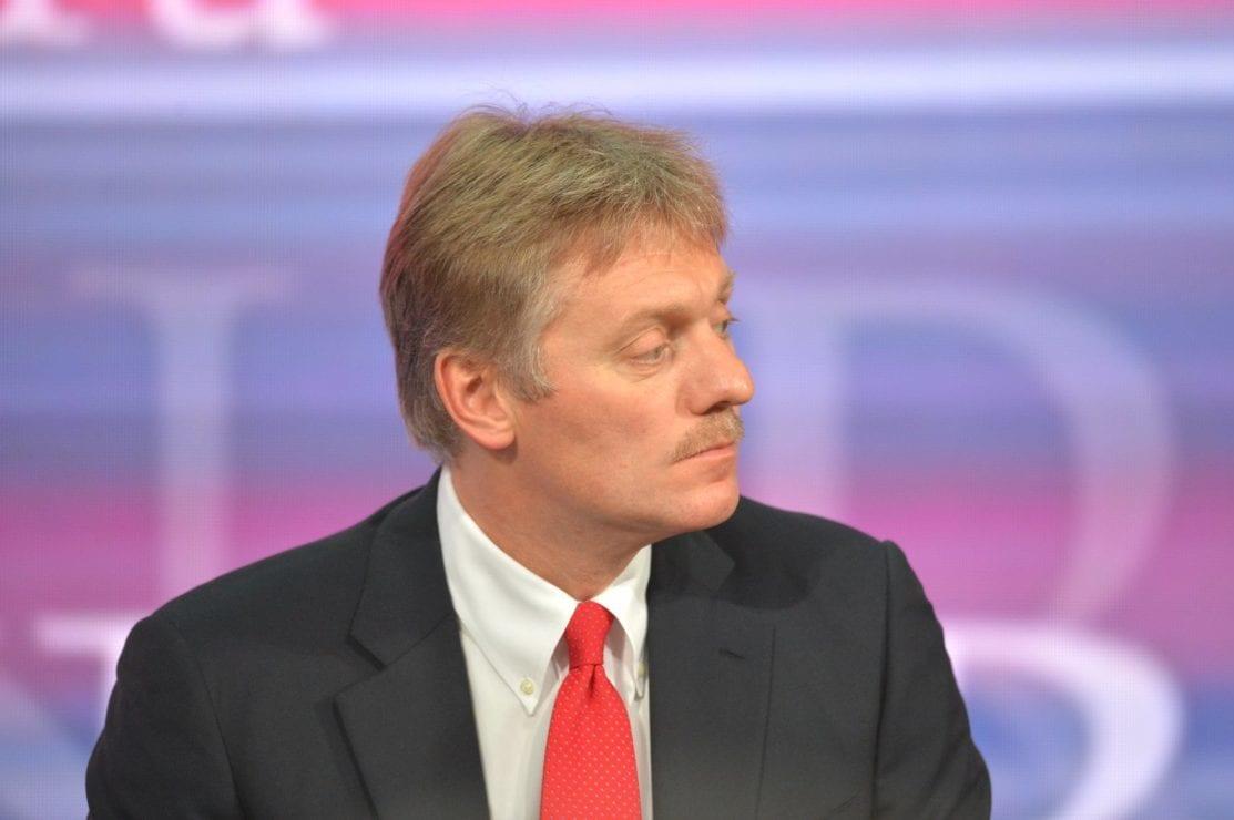 Kremlin spokesman Dmitry Peskov [Kremlin]
