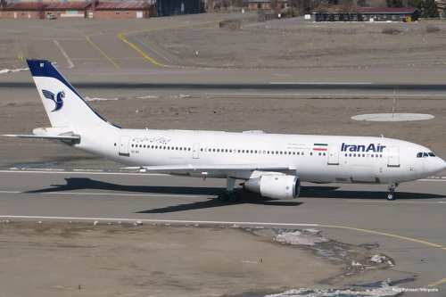 Image of Iran airlines [Reza Rahmani/Wikipedia]