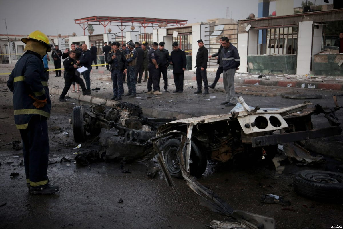 Auto bomb in Iraq kills 12, wounds dozens