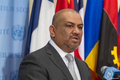Yemen ambassador to UN Khaled Al-Yamani [alkhaleejonline]