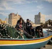 Israeli navy opens fire at Palestinian fishermen