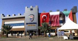 KHARTOUM, SUDAN - JANUARY 08 : A view of the Turkish-Qatar textile factory, named Sur Textile Factory, opened in Khartoum, Sudan on January 08, 2017. ( Ebrahim Hamid - Anadolu Agency )