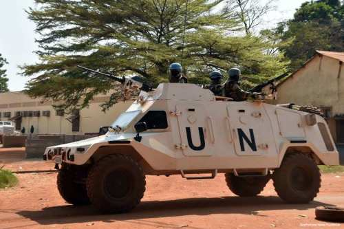 Image of UN peacekeepers in Morocco [OneFortune News/Facebook]