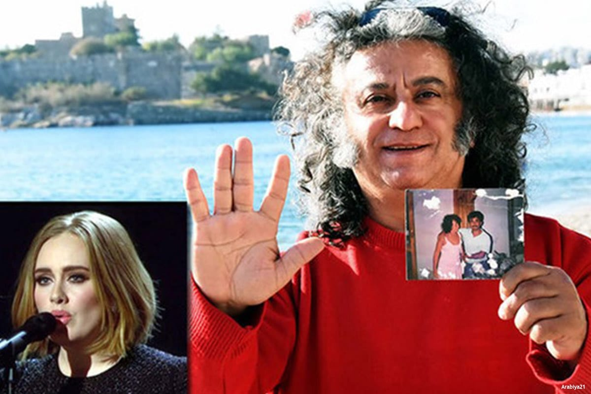 Image of Mehmet Asar, who claims to be Adele's father [Arabiya21]