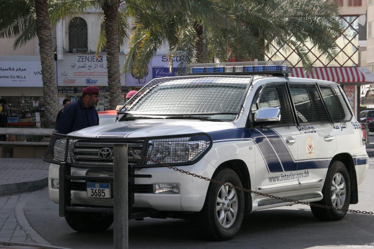 File photo of Bahraini police in the capital Manama [Sara Hassan / Al Jazeera / Flickr]