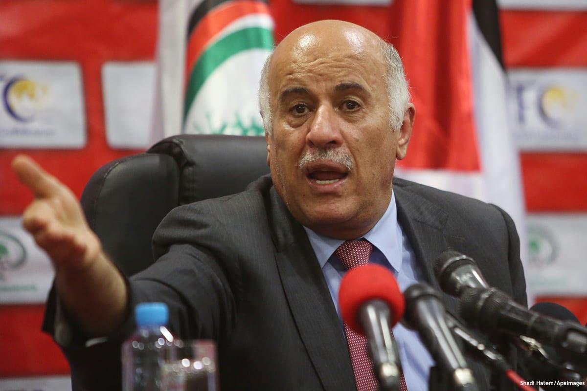 Image of senior Fatah official Jibril Rajoub [Shadi Hatem/Apaimages]