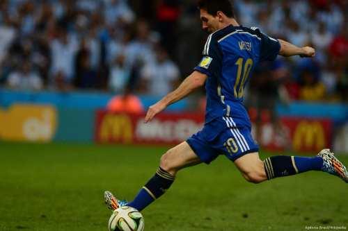 Image of Argentinian footballer Lionel Messi [Agência Brasil/Wikipedia]