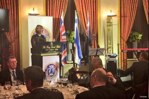 Image of the the Australia, Israel, UK Leadership Dialogue Gala Dinner [LFI/Twitter]