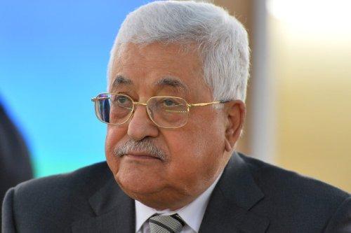Palestinian President Mahmoud Abbas in Geneva, Switzerland on February 27, 2017 [Mustafa Yalçın/Anadolu Agency]