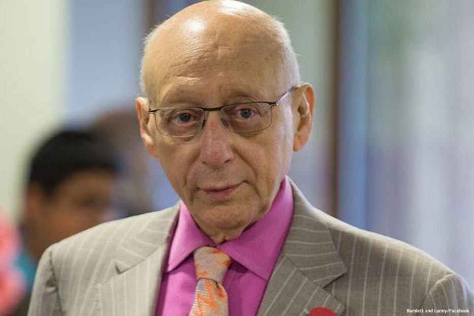 Image of Labour MP Sir Gerald Kaufman [Bamlett and Lunny/Facebook]