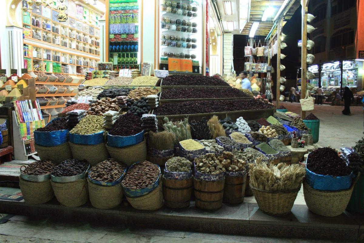 A souq in Aswan, Wgype [Wikimedia/Karelj]