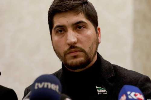 Osama Abu Zeid, legal adviser to the Free Syrian Army [Reuters]