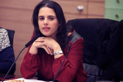 Ayelet Shaked, Israeli Minister of Justice