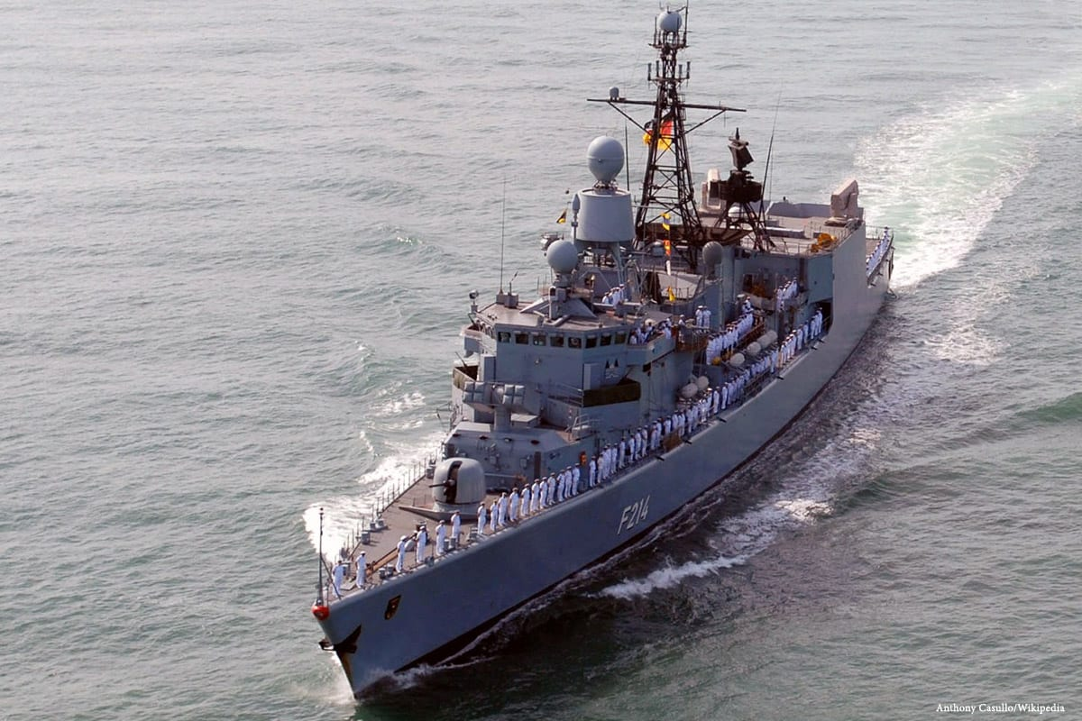 Image of a German navy [Anthony Casullo/Wikipedia]