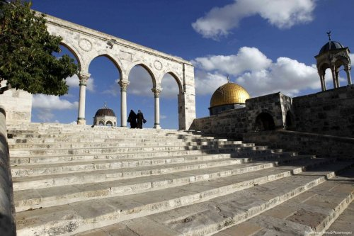Image of Al-Aqsa Mosque in Jerusalem [Muammar Awad/Apaimages]
