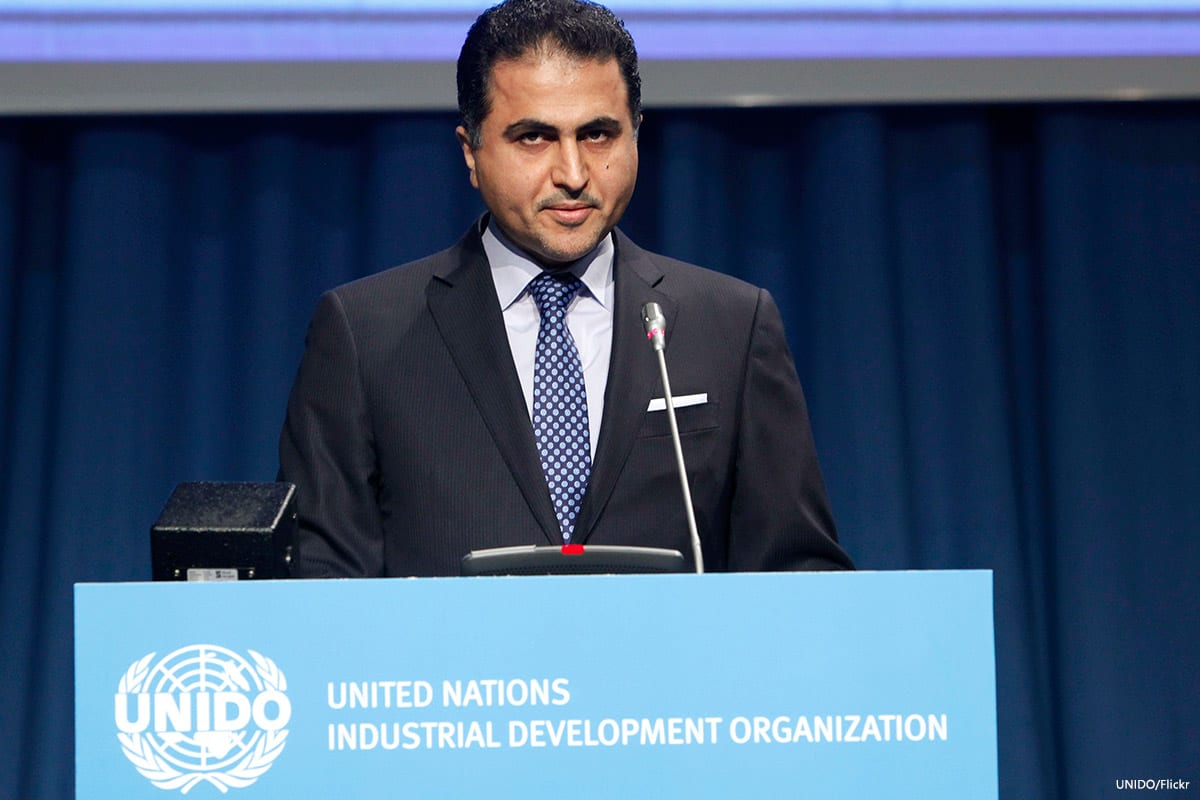 Image of Qatar's permanent representative to the United Nations, Ali Khalfan Al Mansouri [UNIDO/Flickr]