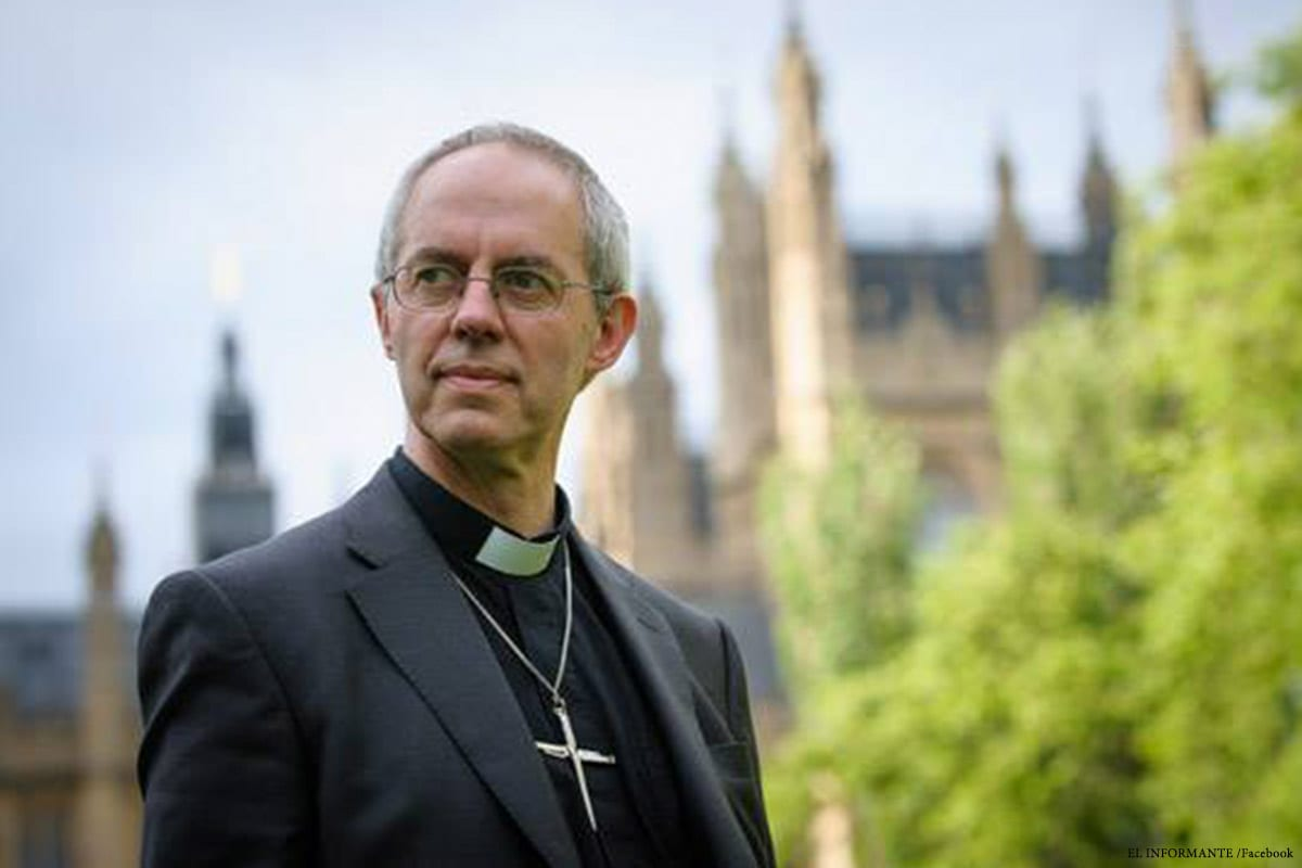 Image of the the Archbishop of Canterbury Justin Welby [Facebook]