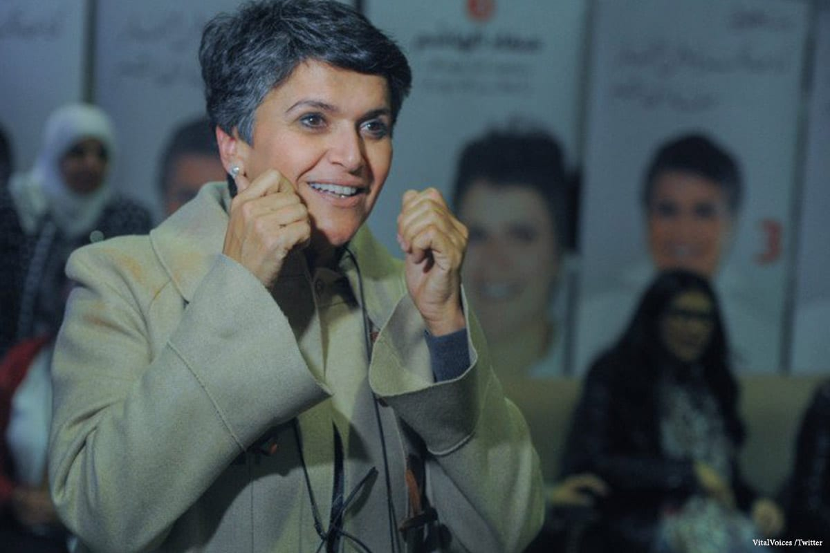 Image of Safaa Al-Hashem, Kuwait's only female member of parliament [VitalVoices /Twitter]