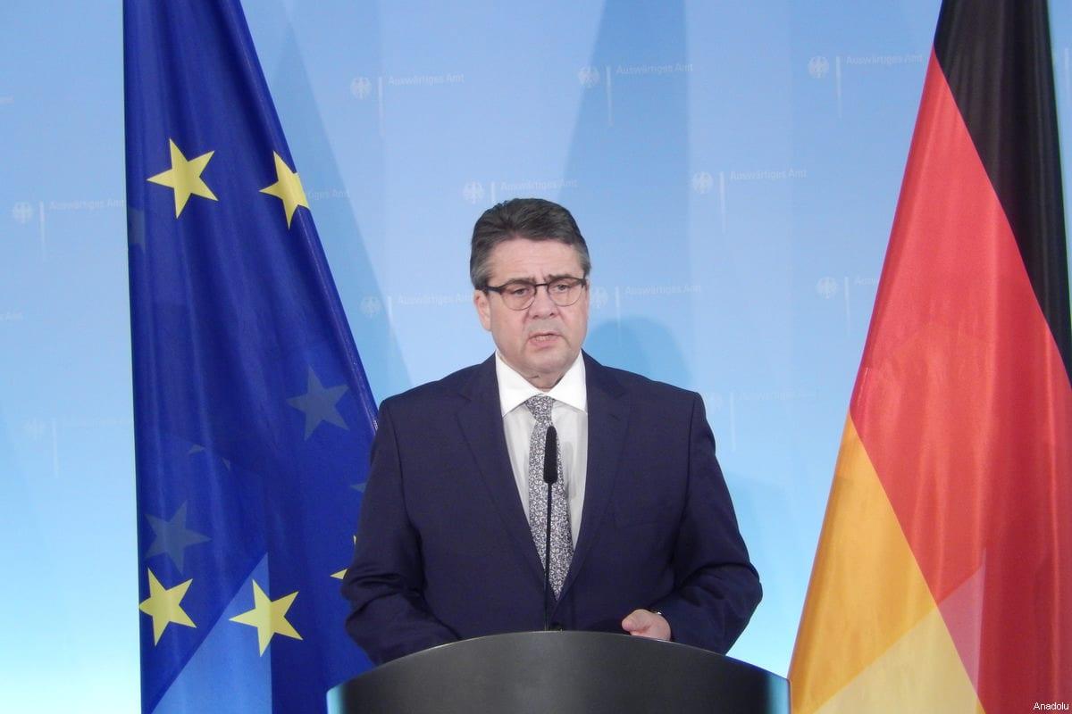 Image of German Foreign Minister Sigmar Gabriel in Berlin, Germany on 8 March, 2017 [Ayhan Şimşek/Anadolu Agency]