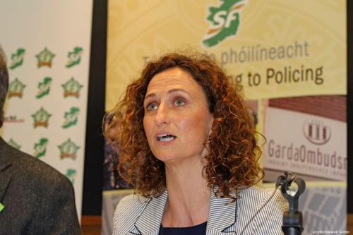 Image of Sinn Féin MP Lynn Boylan [sinnfeinireland/Twitter]