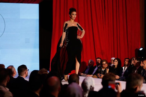 Fashion designers showcase their designs during Baghdad Fashion Week