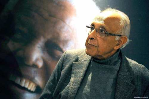 Image of Anti-apartheid icon Ahmed Kathrada [Indian Spice/Facebook]
