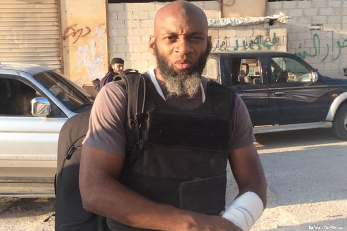 Image of American journalist Bilal Abdul Kareem [EA WorldView/Twitter]