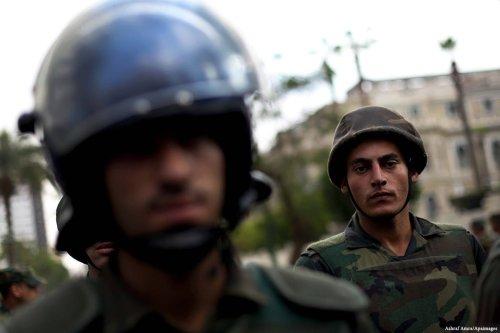 Image of Egyptian police [Ashraf Amra/Apaimages]