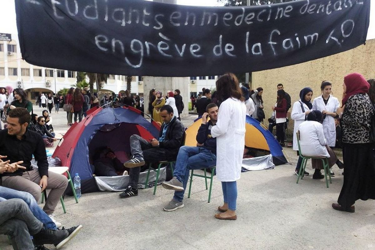 Dental students go on hunger strike in Algeria [DR]