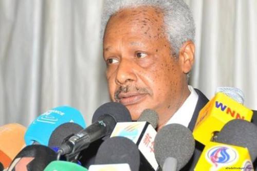 Image of Sudan's Finance Minister Badr Al-Din Mahmoud [alhadathtodaysd /Twitter]