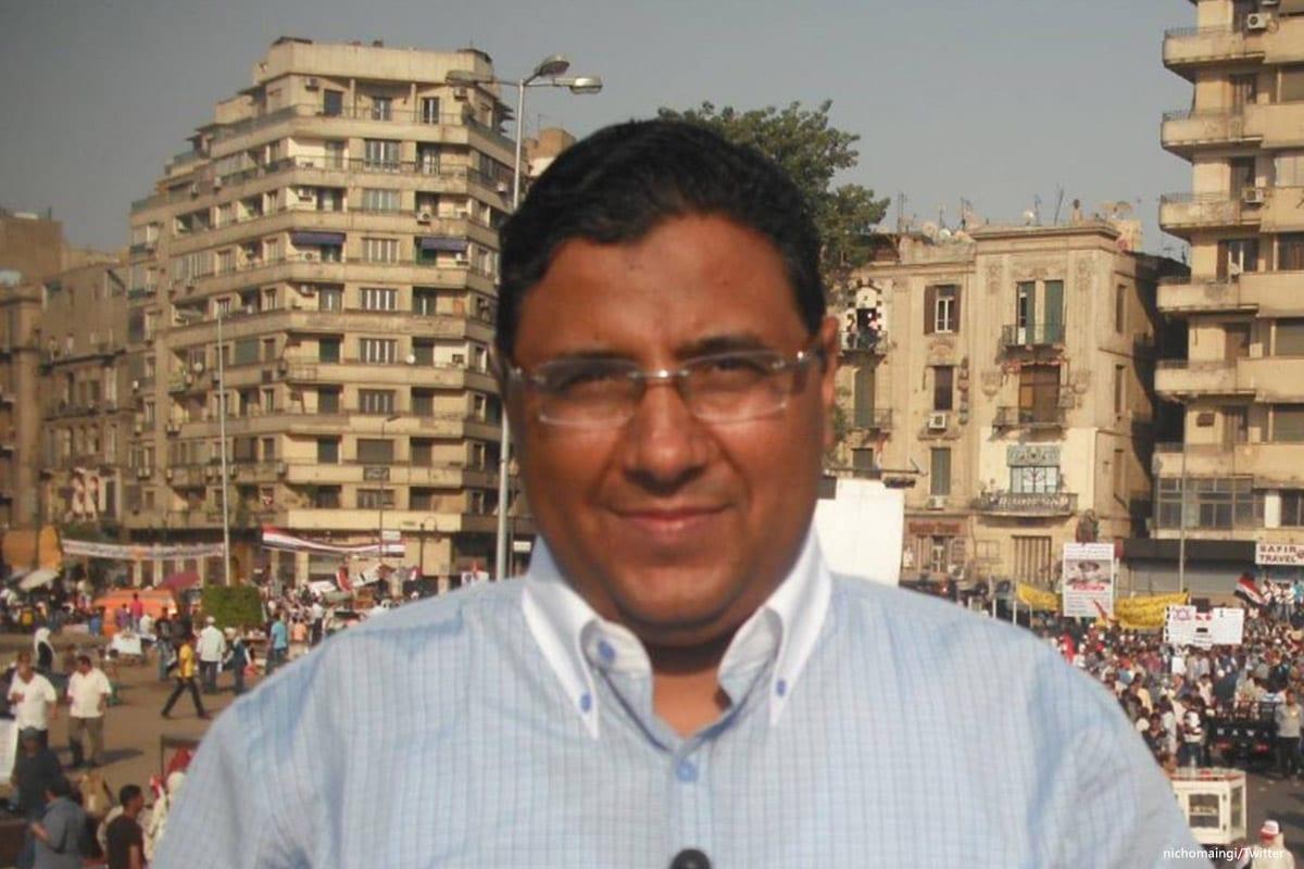 Al Jazeera journalist Mahmoud Hussein [Twitter]