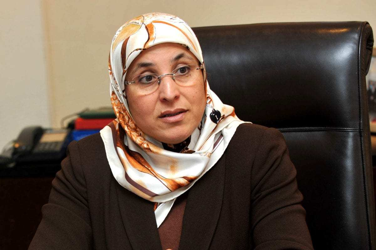 Bassima Hakkaoui, minister of solidarity, women, family and social development