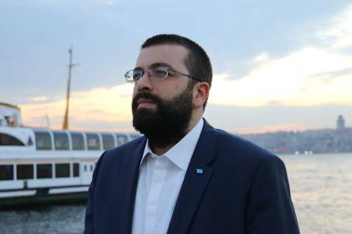 Ahmad El Hariri, the general-secretary of the Future Movement Party of Lebanon. [Image: Tallha Abdulrazaq / Middle East Monitor]